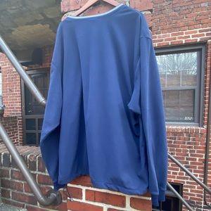 Nike Shirts - Nike Golf Blue Fleece Long Sleeved Pullover